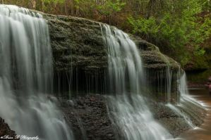 Gentle Cascade by Brian-B-Photography