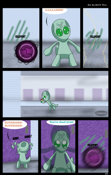 An Alien's Tail: Page 41 by Fishlover