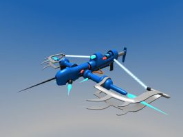 Wyvern Skrith Drilling Plasma Crossbow 3D by Warkom