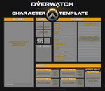 Overwatch Original Hero Template by DarthSuki