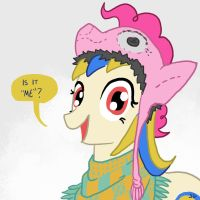 Pia Ikea Shops at Trot Topic by DocWario