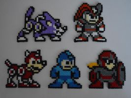 The Mega Man Power Fighters! by MegaSparkster
