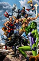 Alliance 3 Avengers by MooseBaumann