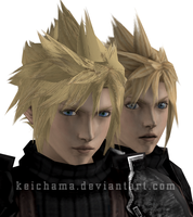 FFVII Cloud retexture project by keichama