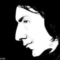 Snape Realism by caitlin-t
