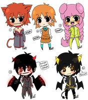 Chibi adopts CLOSED by Sneuki