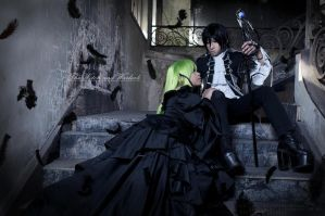 Code Geass - The witch and warlock by KURA-rin