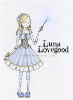 .Luna Lovegood by testsubjectLILY