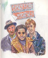 Only Fools and Horses by knockdownginger