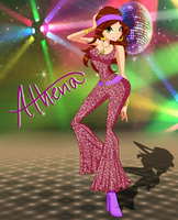 Athena Disco by IviBear