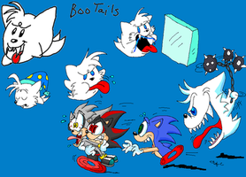 Boo Tails by spongefox