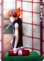 TWEWY: phone booth of love. by poooptato