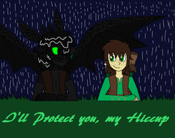 Protection from the Rain by Zombiehorse2