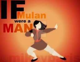 If Mulan were a MAN by MIKEYCPARISII