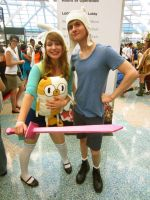 The Epic Heros Fionna and Finn! by pixi996