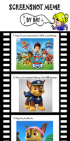 PAW Patrol Screenshot Meme by luckygeorge91928719