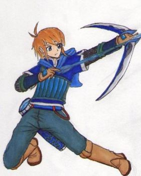 New-Designs: Star Warrior Marksman - Saito by Megaman5