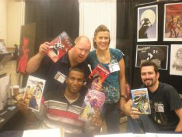 Pittsburgh Comicon by DamageArts