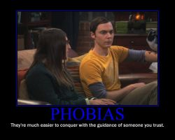 Phobias Motivational Poster by QuantumInnovator