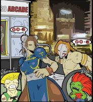 Wewt Street Fighter 4... by the-lagz