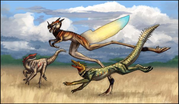 Creature Hunt by Denece-the-sylcoe