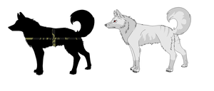 Mystery Wolf Adopts (1/2 OPEN) by DinoGirl500