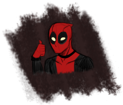 Deadpool by SolrSurfr3