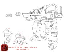 ISU 122 / 152 mm Conversion (W.I.P) by dlredscorpion
