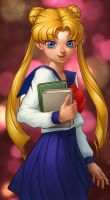 Sailor Moon Coloring entry by DmitryGrebenkov