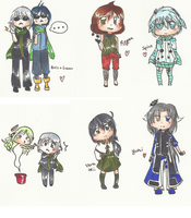 AoH: Chibi Requests 2 by DustBunnyThumper