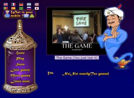 Akinator, the Web Genius Epic. by Ooakfeather