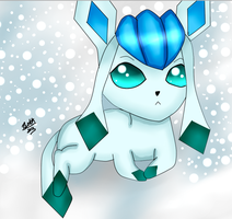 Glaceon by leafyloo