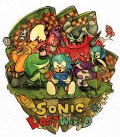 sonic lost world! by kimuyellow