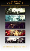 Hendo's PSD Pack 1 by GFXBB
