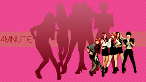 WALLPAPER - 4minute by chazzief