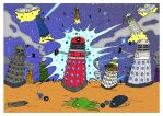 Dalek War - Planet of the Daleks by mikedaws