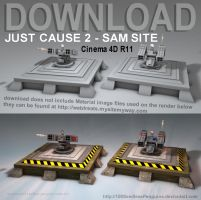 JC2 SAM C4D Download by 100SeedlessPenguins