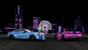 Equestrian Wangan - Twilight Dash Team by NSDrift