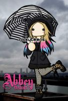 Avril Lavigne - Abbey Dawn - Umbrella by NickyToons