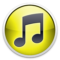 Yellow iTunes Icon by TheArcSage