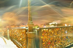 Pont des Arts - Paris by impulsives