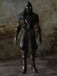 Dishonored - Whaler Assassin by Mageflower