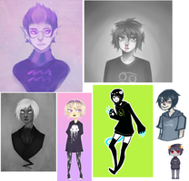 Homestuck Mini Dump by Kuripu