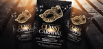 Classy Carnival, Masquerade Ball Party Flyer by LouisTwelve-Design