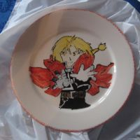 Edward Elric Plate by YamiCecile