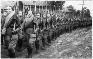 Russian female soldiers battle of Kursk by UniformFan
