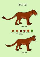 LaF Ref - Sorrel by coyotewinds