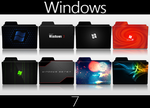 Windows 7 Folder Icon Pack by SmokeU