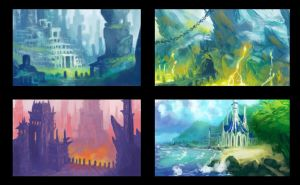 Daily Enviro paints by LyntonLevengood