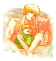NaruSaku: My Little Family by MuseSilver